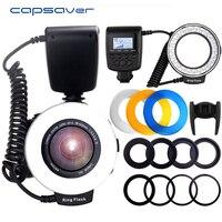 Capsaver RF 550D Macro LED Ring Lights Macro Flash Light For Canon 750D 760D T6i For