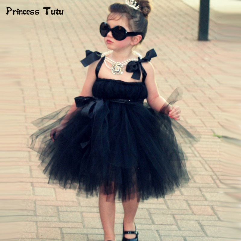 Fashion Trendy Girls Princess Tutu Dress Tulle Blue Black Girl Ball Gown Dress Sleeveless Kids Evening Birthday Party Dresses Fashion Trendy Girls Princess Tutu Dress Tulle Blue Black Girl Ball Gown Dress Sleeveless Kids Evening Birthday Party Dresses