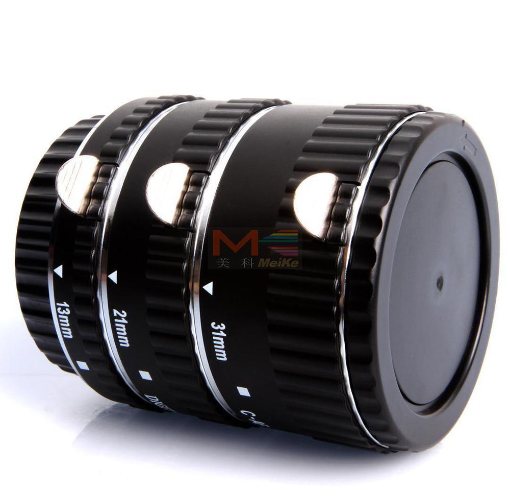 Meike mise au point automatique du Tube d'extension Macro en métal AF pour appareil photo Canon EOS - 2