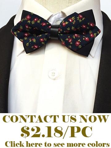 Flower bow ties for men3