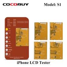 Дисплей дигитайзер сенсорный экран тестовый Инструмент iPhone X XS XR XSMAX тестовая материнская плата ЖК-дисплей передняя панель экрана сенсорная функция тест ing