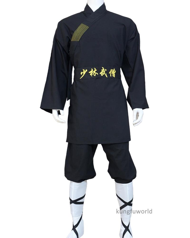 Chinese Shaolin Monk Suit Kung Fu Martial Arts Taiji Clothes Wushu Gongfu Uniforms