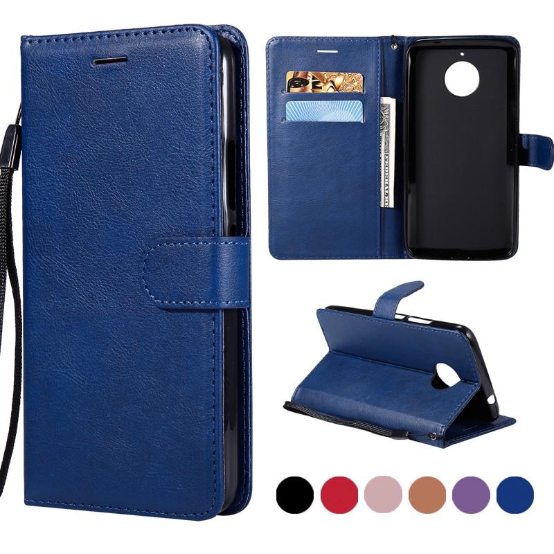 Phone Cases For Fundas Motorola Moto E4 Case For Coque Motorola Moto E4 Plus Case Luxury Wallet Flip Cover Leather Case