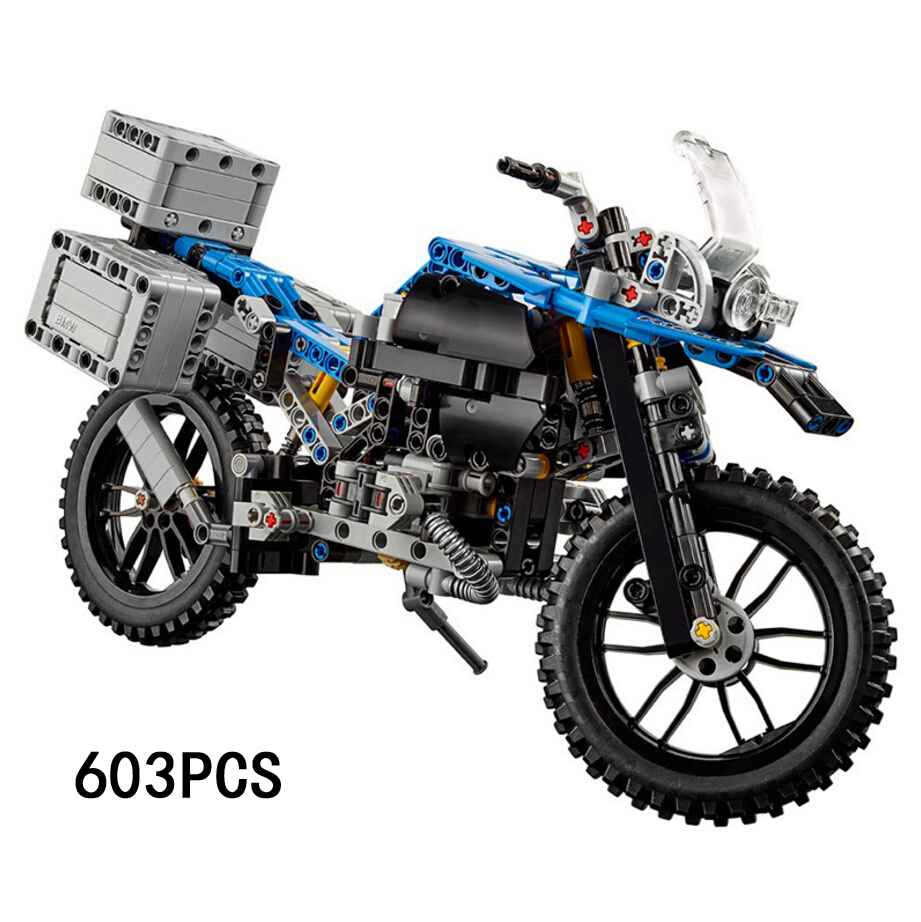 Hot technican technics germany famous brand sports motorcycle building block 2in1 future motor model bricks 42063 toys for gifts hot technician technics extreme adventure 2in1 building block model tracked vehicle bricks 42069 toys collection for kids gifts