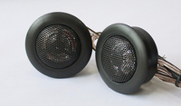 2 pieces 13 mm voice corn Car demo tweeter Speaker Car Auto Audio Music Stereo high pitch Loudspeakers for Universal Cars