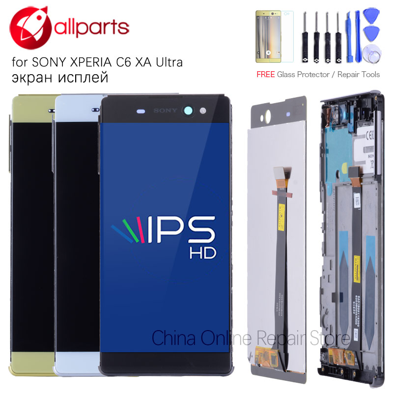 Original IPS LCD For Sony Xperia XA Ultra Display F3211 F3212 LCD Touch Screen For Xperia XA Ultra Display Replacement