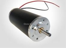 Двигатель постоянного тока 12 В 24 В 48 В 3350 об./мин. 70mn. M 42 мм постоянный магнит кисть велосипеда или мотоцикла s