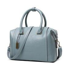 11.11 Super Deal PU  Leather Top-handle Bag Luxury Handbags Boston  Shoulder Bags