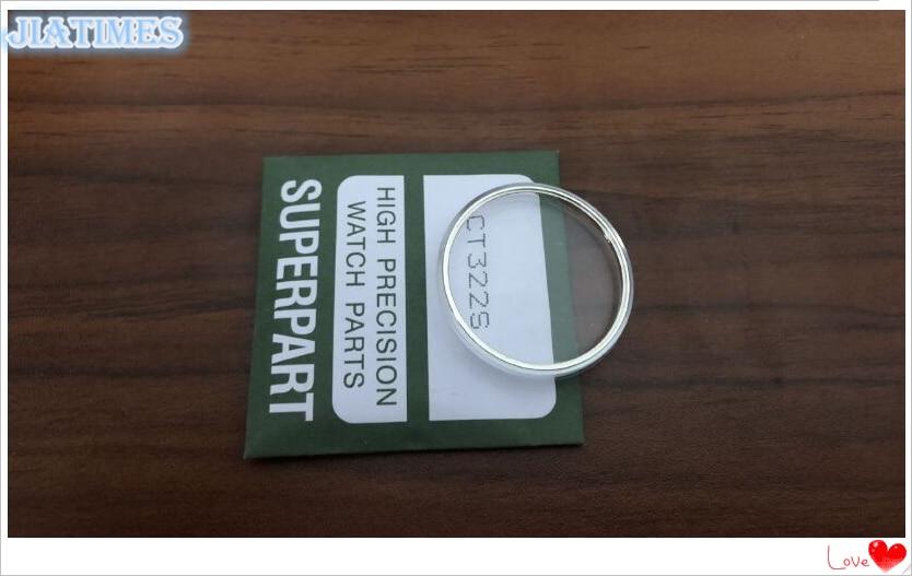 Saatler'ten Onarım Araçları ve Kitleri'de Ücretsiz Kargo 68 Adet Dome Yuvarlak Plastik Cam Kiti ile Sarı ve Gümüş Gergi Halkası Izlemek için Yedek'da  Grup 1