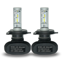 2Pcs H4 H7 LED Car Headlight Bulbs H11 H1 H3 H13 9005 9006 50W 8000LM Auto