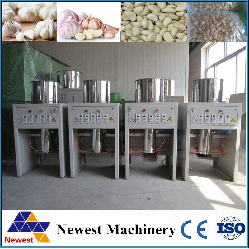 Export Spain automatic garlic peeling machine ,industrial garlic peeling machines ,30kg/h garlic peeler machines