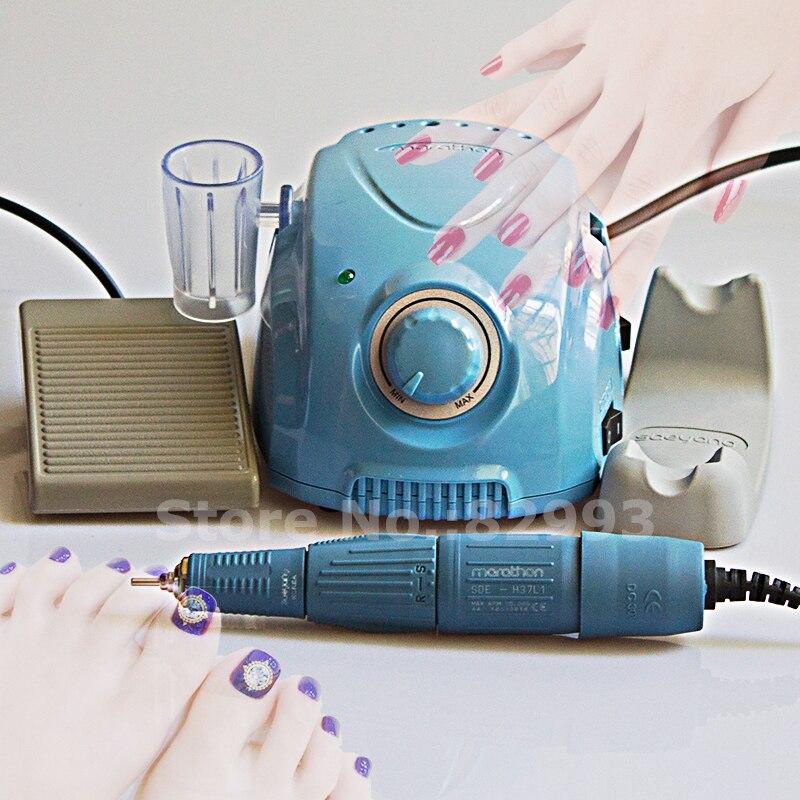 Korea Originele Manicure Pedicure Boor Nail Voetverzorging Nail Salon Elektrische Machine Kampioen Marathon H37L1 Handstuk Micromotor