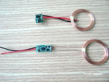 Draadloos Opladen Oplader Zender + Ontvanger Coil Voeding Module 5V 500mA Voor MP3 、 MP4 、 Telefoon