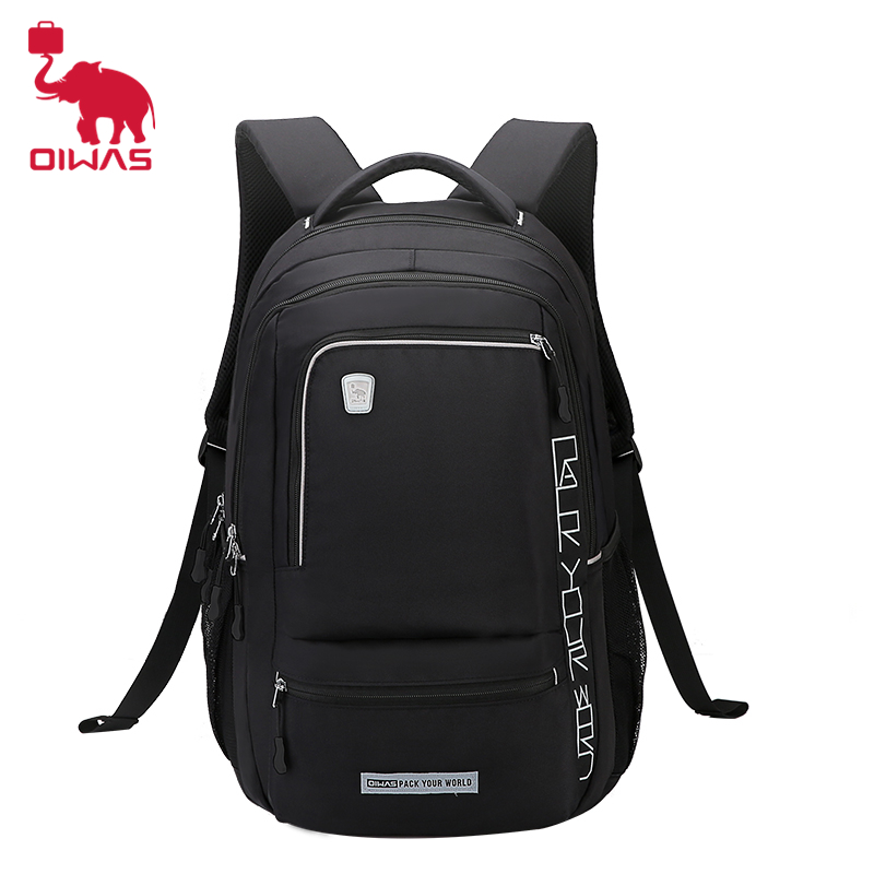 Oiwas Lightweight Shoulder Laptop Backpack Fashionable And Leisure Bag Large Capacity Suitable For Business And Travel Bags oiwas 19 6l laptop business backpack lightweight water resistant travalling backpack solid color two colors for male