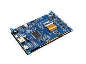 Image 4 - Waveshare 5 pouces HDMI LCD (H), 800x480, tablette LCD à écran tactile capacitif, interface HDMI, Support Raspberry Pi, BB noir, banane Pi