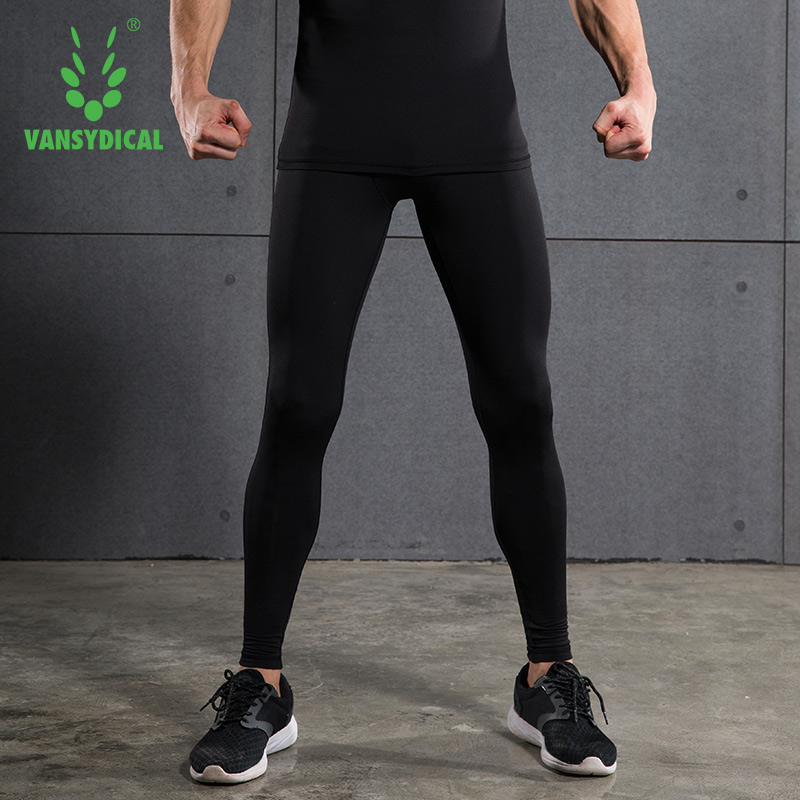Mens Compression Leggings Tights Fleece Long Pants Fitness Pants Jogging Trousers Sports Running Leggings Workout Gym Wear