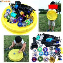 Beyblade stadium Metal Fusion 4D Freies spinner top launcher and grip arena children toy