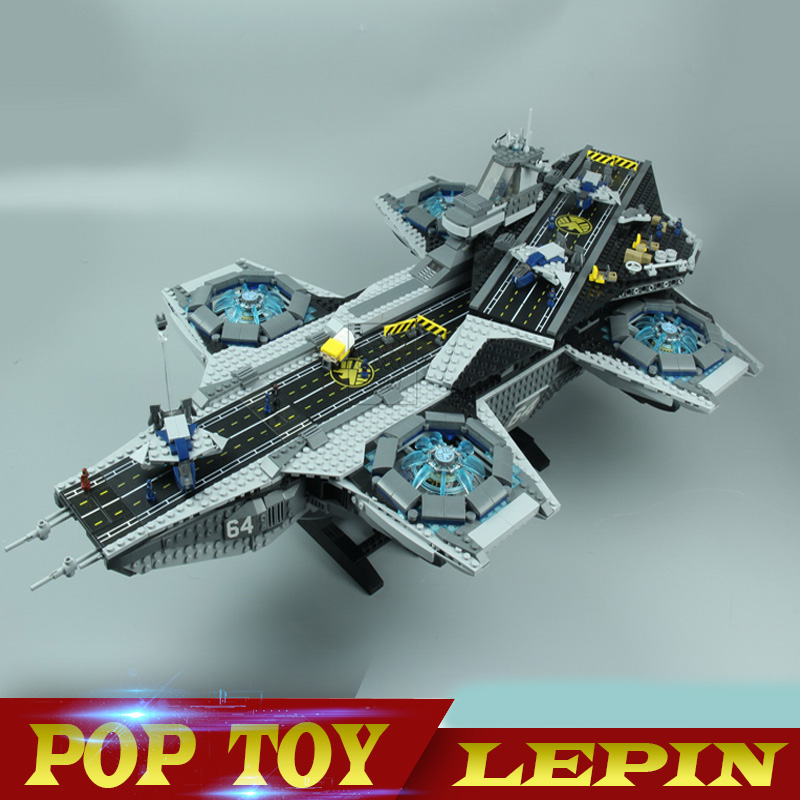 Lepin 07043 Super Heroes The Shield Helicarrier Model Building Kits Blocks Bricks Toys Compatible 76042 3057pcs 07043 the shield helicarrier set captain america winter soldier building blocks bricks compatible with lego
