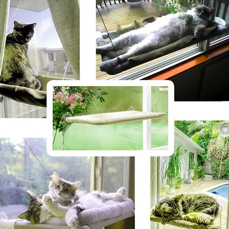 New Window Pet Bed Cat Furniture Bed Funny Hammock Single Scratching Board For Cat Jumping Playing Training Cat Tool Toys  Hpc08 #6
