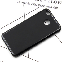 Wholesale 10pcs Lot Black Soft TPU Phone Cover Fundas For Xiaomi Redmi 4X 4A Case Redmi