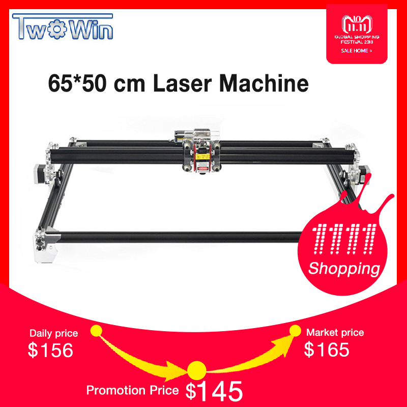 цена на 500MW/2500MW/5500MWLaser DIY Laser Engraver Machine 6550 CNC Laser Machine Wood Router for Cutting and Engraving