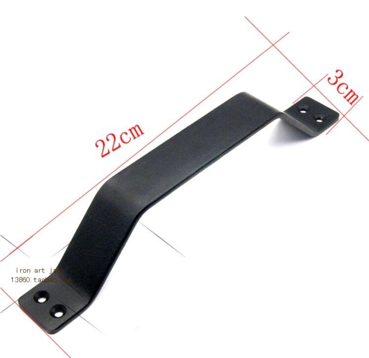 4 шт./партия L: 220 мм промышленный воздушный чердак деревянная дверная раздвижная дверная ручка