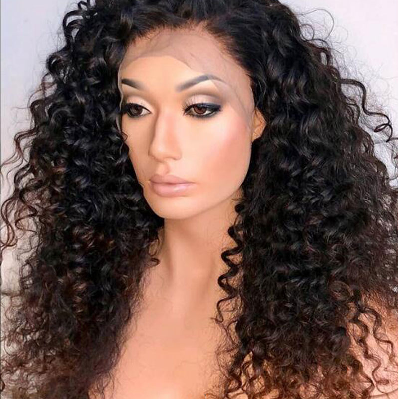 Honey Blonde 250 Deep Curl 13x6 Lace Front Human Hair Wigs Baby Hair PrePlucked Remy Brazilian
