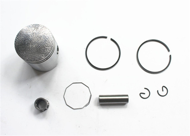 40MM piston kit with pin for Cylinder Barrel Piston Ring Gasket Set For  YAMAHA PW 50 PW50 QT 50 QT50 NEW Cylinder Rebuild Kit-in Pistons & Rings  from