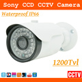 CCTV Security Camera - 1200 TVL Color 2.8~12mm Wide Angle ir cut &Outdoor-Day & Night  Home Security Surveillance Bullet Camera