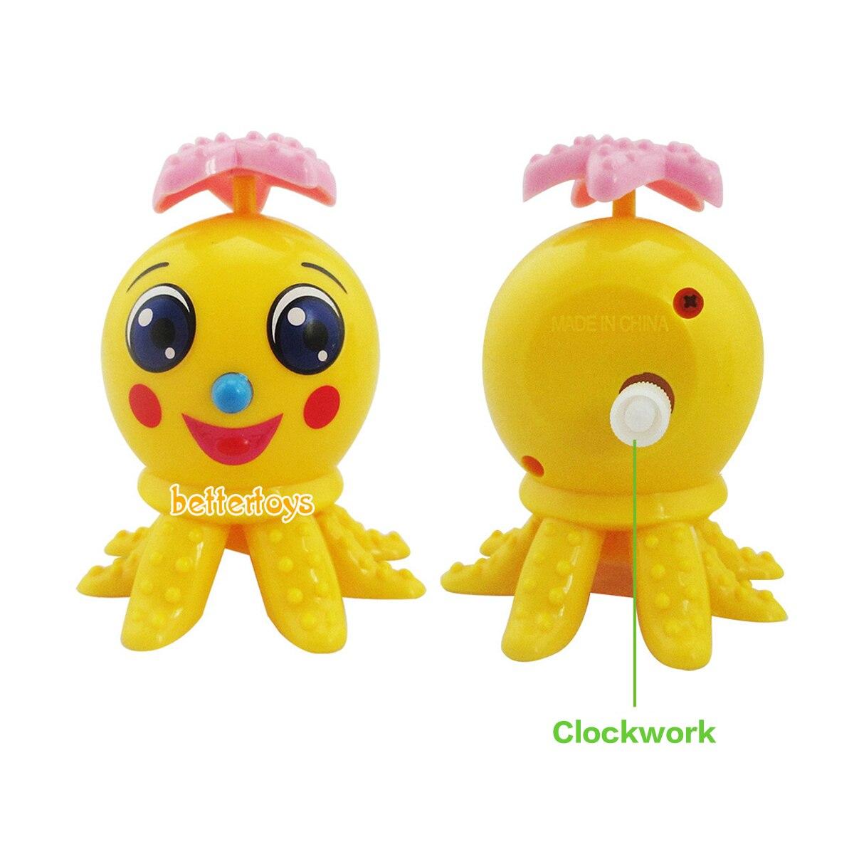 Wind Up Cartoon Chicken Plastic Clockwork Toys Children Educational Toy new.