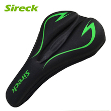 Sireck Bicycle Saddle Cover Liquid Gel Cycling Saddle Cover Soft Pad Cushion Mountain Road Bike Front Seat Mat Cover Accessories