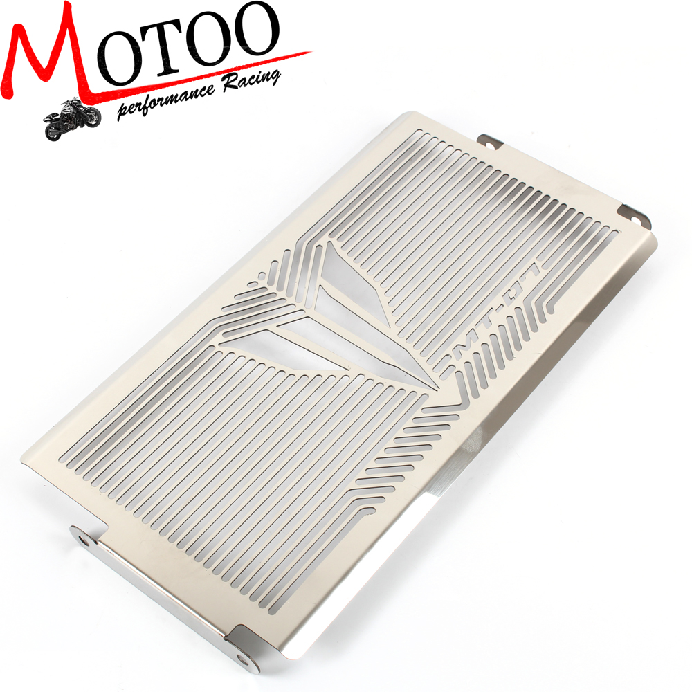 Motoo - free shipping motorcycle Stainless Radiator Grille Grill Cover Protector Guard For YAMAHA MT-07 MT07 all years arashi motorcycle radiator grille protective cover grill guard protector for 2008 2009 2010 2011 honda cbr1000rr cbr 1000 rr