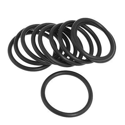 10 Pcs Black Nitrile Rubber O Rings NBR Seal Grommets 48mm x 58mm x 5mm