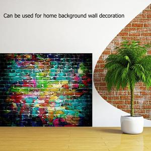 Image 5 - 5 tailles brique Texture Photo fond tissu plaque Photo toile de fond Studio photographie accessoires écran décor à la maison Studio accessoires