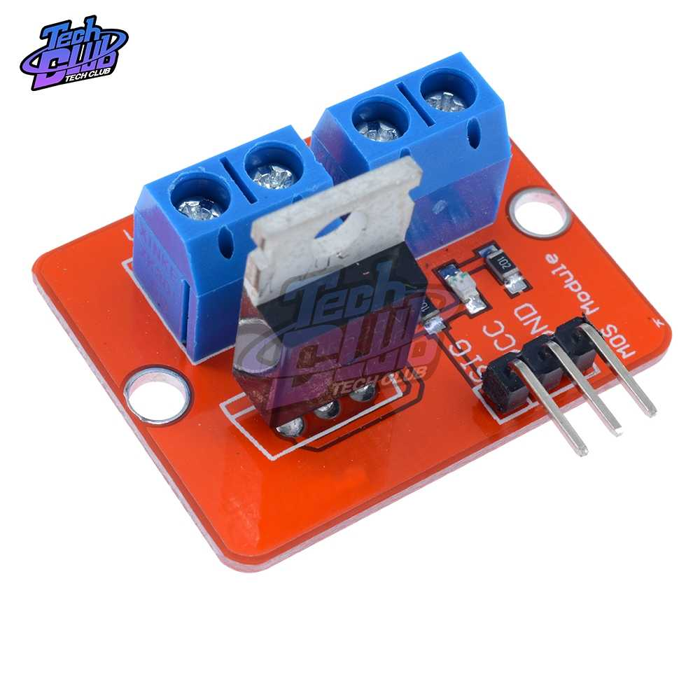 0-24 в топ Mosfet Кнопка IRF520 драйвер MOS модуль для Arduino MCU ARM Raspberry pi