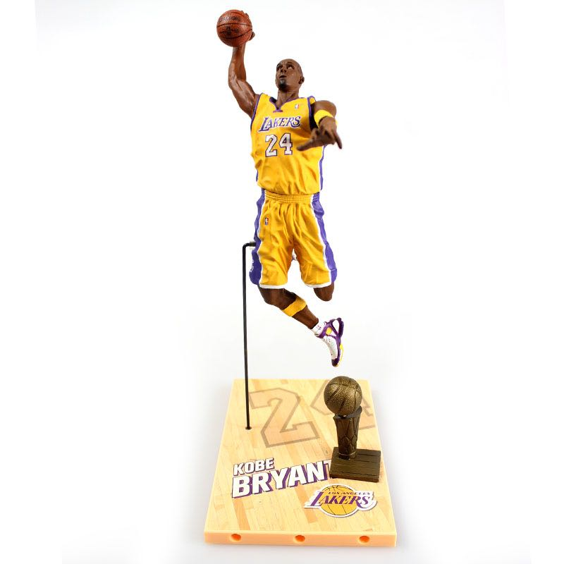 New arrive NBA star limited edition Kobe Bryant   Action Figure Model Toys Collections Dolls Christmas present for boy чехол для iphone 6 глянцевый printio kobe bryant