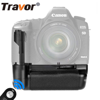 Professional Camera Battery Grip For Canon 5D Mark II RC 5 Remote New