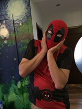 High Quality New Deadpool Mask X-Men Superhero Knitted Halloween Cosplay Headwear Hood Full Face Masks