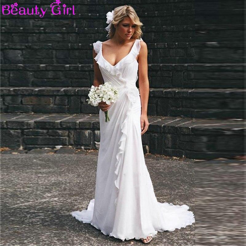 Cheap Beach Wedding Dresses Photo Album - Reikian