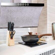 Cocina absorbente papel no tejido Anti aceite de algodón filtros Cooker Hood Extractor Fan de filtro de aceite de alta temperatura de absorción de papel campana extractora de cocina hotte aspirante cuisine esponja