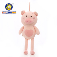 Cartoon software pig plush toy pig doll lovely pig pillow birthday gifts for children and girls