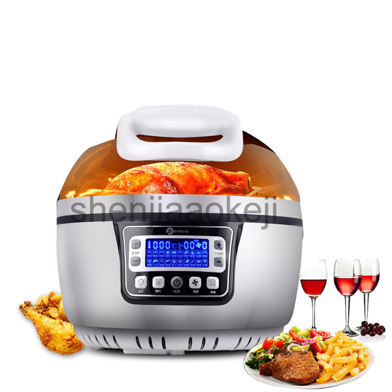 3D smart oil-free air fryer Household 10L large-capacity fryer multi-functional French fries machine 220v 1300w 1pc пуф french fries