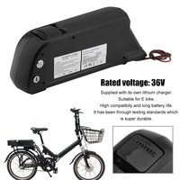 Electric Bicycle Battery 36V 13AH 468W Lithium ion Battery Pack Aluminum Alloy Electric Vehicle Bike Battery 50 70km Mileage