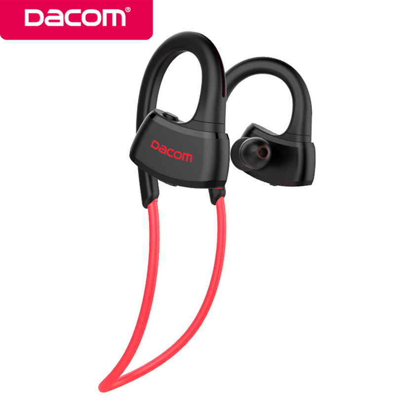 DACOM P10 IPX7 Waterproof Mp3 Music Player+Wireless Bluetooth Sport Earphone Stereo Earbuds Headset with Mic Handsfree for Phone askmeer 8gb mp3 music player headsets wireless bluetooth sport earphone sweatproof earbuds headset with microphone handsfree