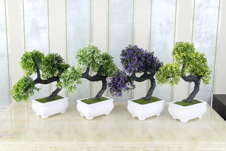 indoor plants bonsai trees florals flower - satukis Artificial House Plants and Trees