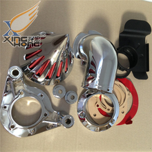 Aftermarket free shipping motor parts Spike Air Cleaner for Harley Davidson 2008-2012 Dyna Electra Glide FLHX Road King CHROME