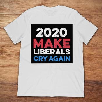 089893d96b754 Marca Gildan 2020 que los liberales llorar otra vez camiseta de los hombres  Camiseta de manga corta