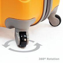 4 шт. замена PC / ABS Hardside тележка багаж счетчик колеса