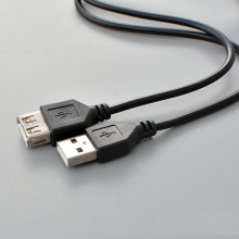 USB Extension Câble Super Speed USB 2.0 Câble Mâle à Femelle 1 m Data Sync USB 2.0 Extender Cordon Extension câble(China)