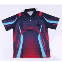 Free shipping new table tennis clothing men / women sports shirt tennis sports T-shirt